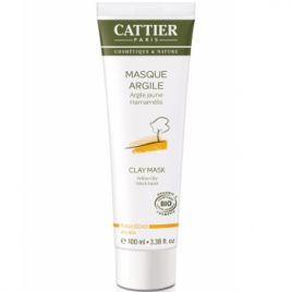 Cattier Masque argile jaune en tube 100ml Cattier
