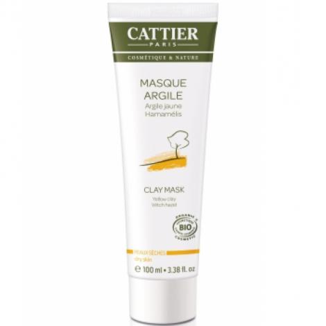Cattier Masque argile jaune en tube 100ml Cattier