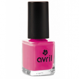 Avril Vernis à ongles Rose Bollywood n°57 7ml Avril Beauté Vernis à ongles bio Onaturel.fr