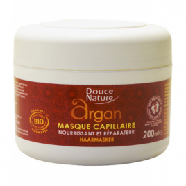 Douce Nature Masque capillaire à l'Argan 200ml Douce Nature Shampooings Cheveux secs Onaturel.fr