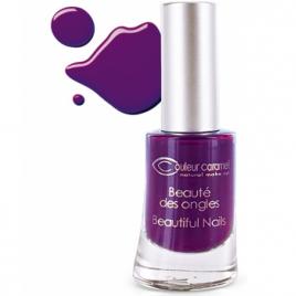 Couleur Caramel Vernis n°60 prune électrique 8ml Couleur Caramel Vernis à ongles bio Onaturel.fr