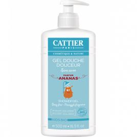 Cattier Gel douche douceur enfants sans savon à l'Ananas 500ml Cattier Gels douche - bains moussants Onaturel.fr