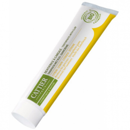 Cattier Dentifrice Dentargile reminéralisant au Citron gencives irritées 75ml Cattier Dentifrices bio Onaturel.fr