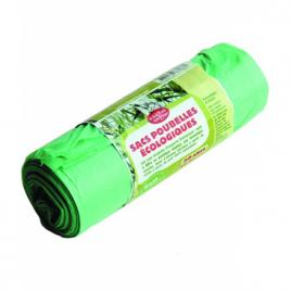 Droguerie Ecologique Rouleau de 20 sacs poubelle de 50 Litres Droguerie Ecologique Entretien ménager Onaturel.fr