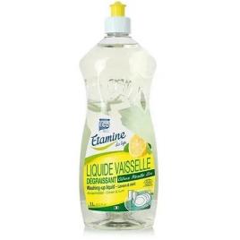 Liquide vaisselle main Citron Menthe 1L Etamine du Lys Vaisselle Mains Bio Onaturel.fr