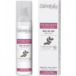 Centifolia Soin de nuit Anti âge global 50ml Centifolia Soins de nuit Bio Onaturel.fr