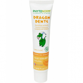 Phytonorm Dragondents Banane sans fluor 75ml Phytonorm Categorie temp Onaturel.fr