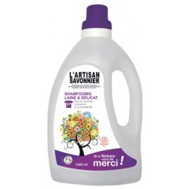 L Artisan Savonnier Entretien Shampooing Laine et Délicat 1500ml L Artisan Savonnier Entretien Categorie temp Onaturel.fr