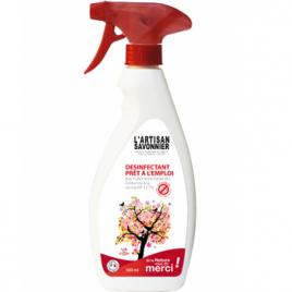 L Artisan Savonnier Entretien Désinfectant 500 ml
