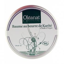 Oleanat Baume au beurre de karité et huile d'argan 100ml onaturel