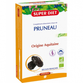 Super Diet Jus de Pruneau Bio 20 Ampoules buvables de 15ml Super Diet Categorie temp Onaturel.fr