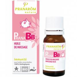 Pranarôm Huile de massage Bio PRANABB Immunité 10ml