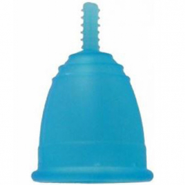 Coupe menstruelle Mamicup L Bleue avec pochette Mamicup Hygiène Onaturel.fr