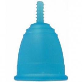 Coupe menstruelle Mamicup L Bleue avec pochette