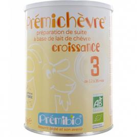 Prémibio Lait prémichèvre croissance sans gluten de 12 à 36 mois 900g Prémibio Laits infantiles Bio Onaturel.fr