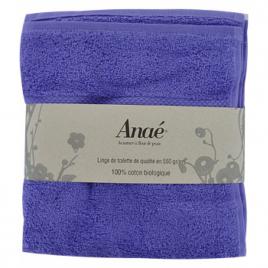 Anae Serviettes de toilette Lavande 50x100cm 550g/m2 Anae Maison Bio Onaturel.fr