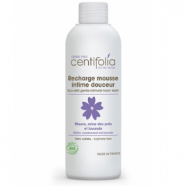 Centifolia Recharge Mousse intime 200ml Centifolia Hygiène féminine bio - serviettes périodiques Onaturel.fr