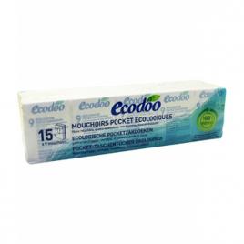 Ecodoo 15 Paquets de mouchoirs écologiques Ecodoo Maison Bio Onaturel.fr