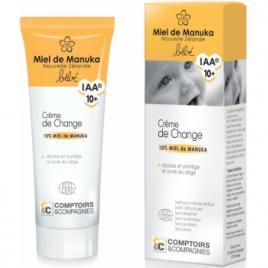 Comptoirs Et Compagnies Crème de change 10% Miel de Manuka IAA10 75ml Comptoirs Et Compagnies Change Bio Onaturel.fr