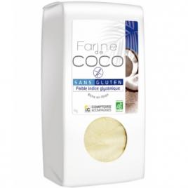 Comptoirs Et Compagnies Farine de Noix de Coco 400g Comptoirs Et Compagnies Farines Bio Onaturel.fr