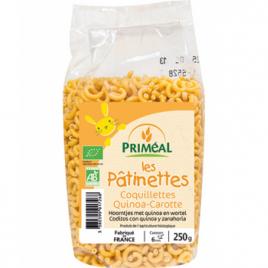 Primeal Les pâtinettes Coquillettes Quinoa Carottes 250g Primeal Le Coin des Promos Onaturel.fr