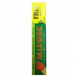 Dabur Dentifrice naturel Miswak Meswak 75g  Dentifrices bio Onaturel.fr