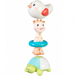 Vulli Set de 3 jouets de bain Sophie la girafe (Sophie, Margot et Kiwi) Vulli Categorie temp Onaturel.fr