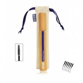 Zao Make up Mascara Noir 080 Structurant en Bambou 9 ml Zao Make Up Yeux bio Onaturel.fr