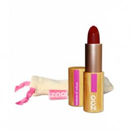 Zao Rouge à lèvres 465 Mat Rouge Sombre 3.5g Zao Make Up Anti-âge / Beauté Onaturel.fr
