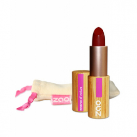 Zao Rouge à lèvres 465 Mat Rouge Sombre 3.5g Zao Make Up