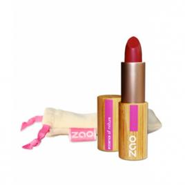 Zao Rouge à lèvres 463 Mat Rose Rouge 3.5g Zao Make Up Anti-âge / Beauté Onaturel.fr