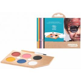 Namaki Kit maquillage 8 couleurs Arc en ciel 125g Namaki