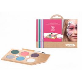 Namaki Kit maquillage 8 couleurs Mondes enchantés 125g Namaki Anti-âge / Beauté Onaturel.fr