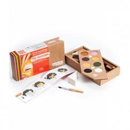 Namaki Kit maquillage 8 couleurs Vie Sauvage 125g Namaki Anti-âge / Beauté Onaturel.fr