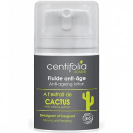 Centifolia Fluide anti âge Défatiguant Energisant à l'extrait de Cactus 50ml Centifolia Soins anti-âge Bio Onaturel.fr