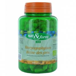 Nat et Form Complexe Harpagophytum Reine des Prés 200 gélules Nat et Form Minceur Onaturel.fr