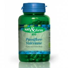 Nat et Form Complexe Passiflore Valériane 200 gélules