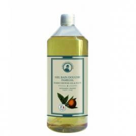 L artisan Savonnier Hygiène Gel bain douche familial Mandarine Orange 1L