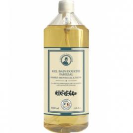 L artisan Savonnier Hygiène Gel bain douche familial à l'huile essentielle de Lavandin 1L