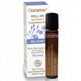 Florame Roll on Relaxant 5ml Florame Roll-on huiles essentielles Bio Onaturel.fr