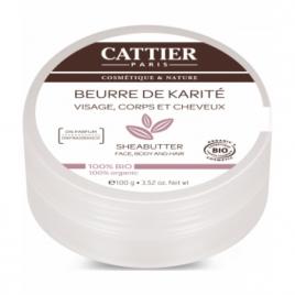 Cattier Beurre de karité 100g