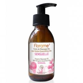Florame Huile de Massage Sensuelle 125ml Florame Soins du corps Bio Onaturel.fr