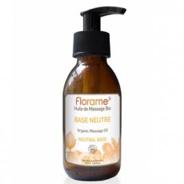 Florame Huile de Massage Base neutre 125ml Florame Huiles végétales Bio Onaturel.fr