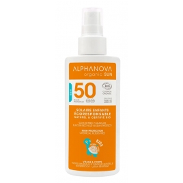 Alphanova Spray solaire pour enfants très haute protection SPF 50 Kids 125g Alphanova Bébé, Enfant, Maman Onaturel.fr