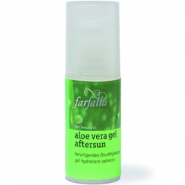 Farfalla Gel d'Aloe Vera Tea tree Lavande Aftersun 50ml Farfalla Soins hydratants Bio Onaturel.fr