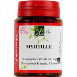 Belle et Bio Myrtille baie bio 200 comprimés Belle et Bio Compléments Alimentaires Bio Onaturel.fr