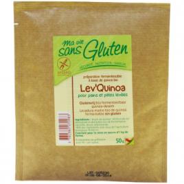 Ma Vie Sans Gluten Lev'Quinoa pains et pâtes levées sans gluten 50 g  Le Coin des Promos Onaturel.fr