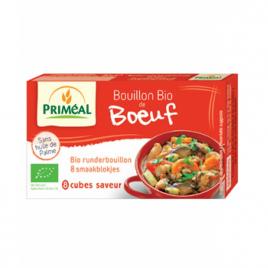 Primeal Bouillon de boeuf en cube 80g Primeal Aides culinaires bio Onaturel.fr