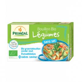 Primeal Bouillon de légumes sans sel en cube 72g Primeal