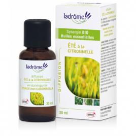 Ladrome Eté à la Citronnelle 30ml Ladrome Aromathérapie Bio Onaturel.fr